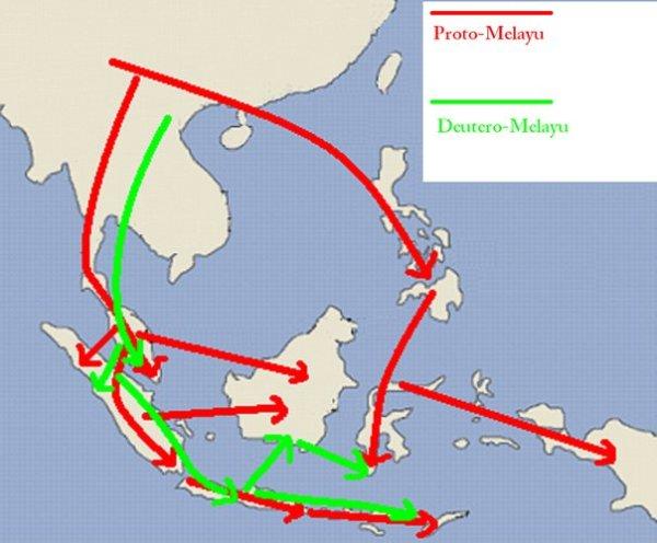 perseberan nenek moyang indonesia
