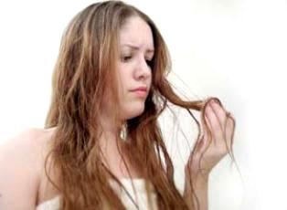 rambut kering dan rapuh
