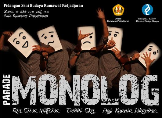 apa itu monolog?