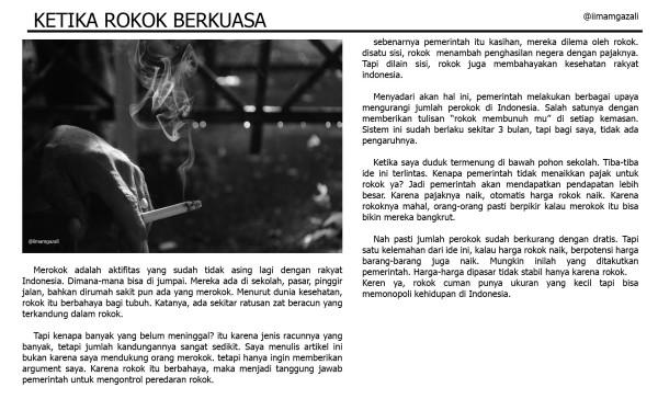 Rokok (hasil)